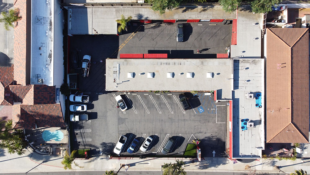 commercial roofing project in Redondo Beach, CA