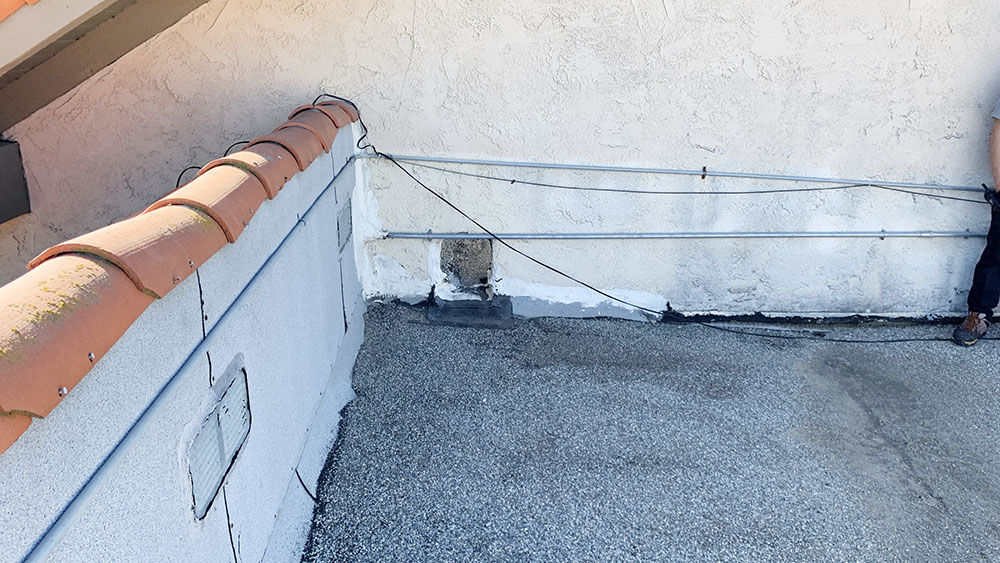 camarillo roof repair for a commercial building