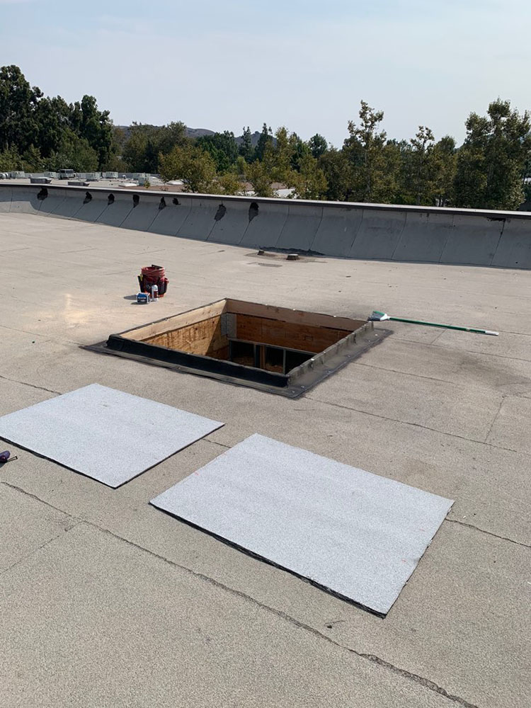 commercial roof repair in westlake village, ca