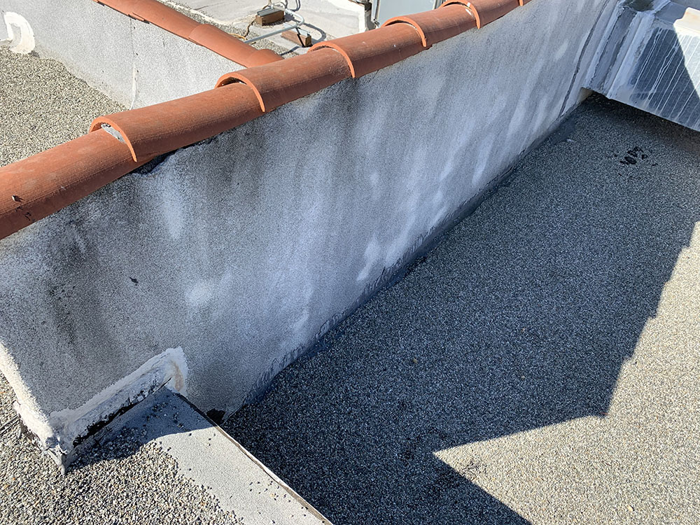 commercial roofing repair project in camarillo, ca